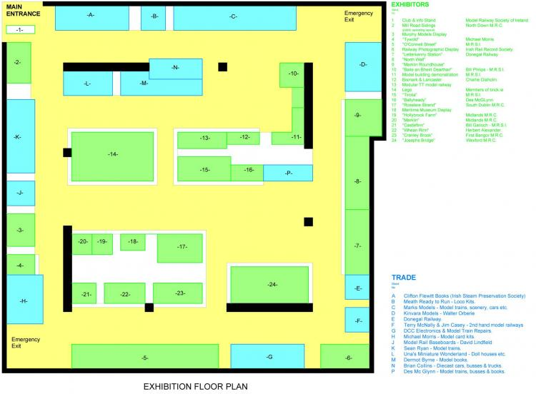 DLR event 2013 floorplan