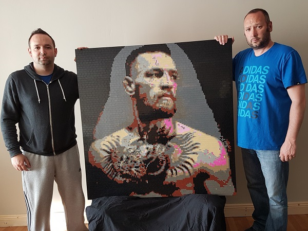 The Notorious Conor Mc Gregor Mosaic