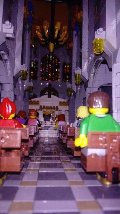 Last mass before Tayto Park