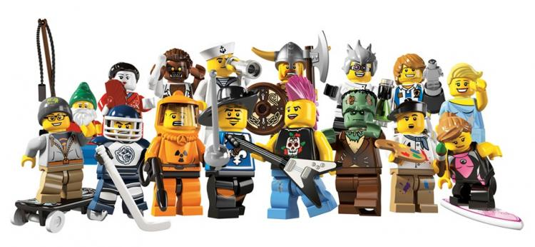 Colectible Minifigs Series 4