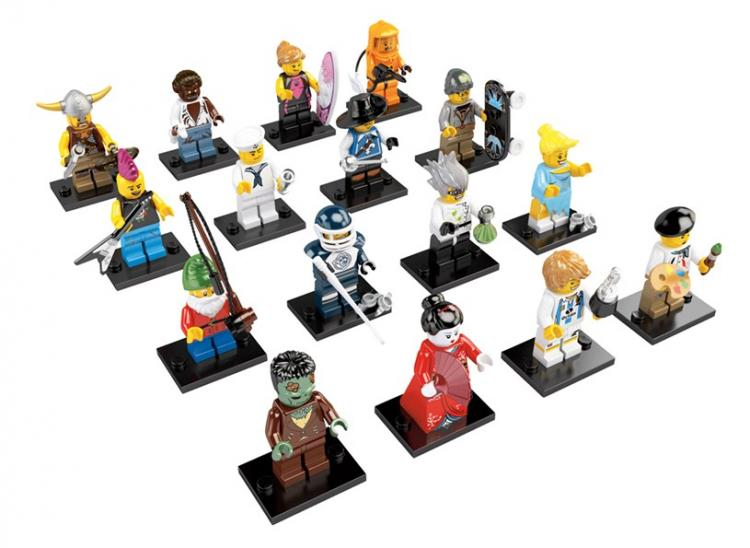 Colectible Minifigs Series 4 Photo