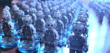 Cybermen on the march to Brick Féile