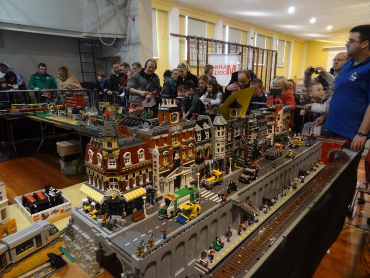 Layout at MRSI Train Show from Main Street