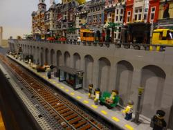 Close up of Main Street Station