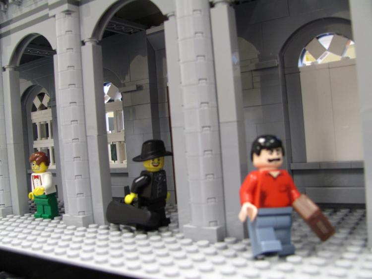 Dodgy characters spotted at Heuston Station