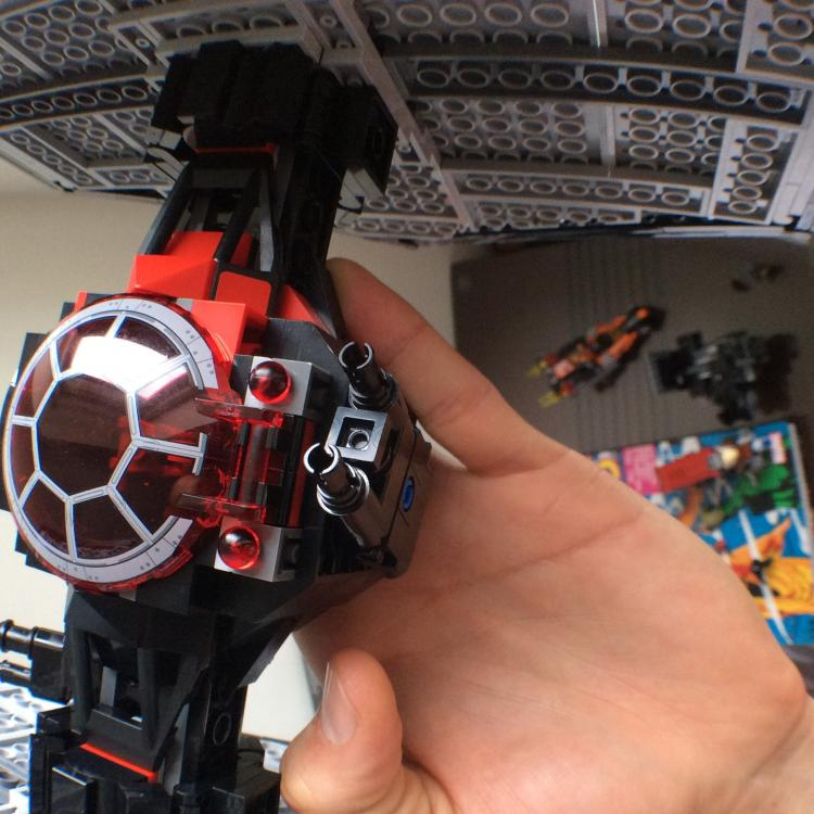 SF Tie Fighter 75101 - Mod - Heavy Weapons Turret