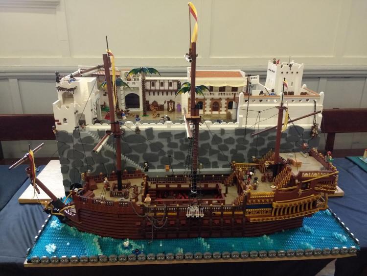 Pirate moc at Limbrick City 6-7/10/18