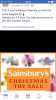 Sainsbury's toy sale announced