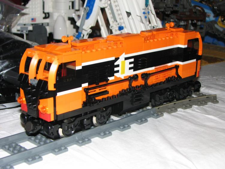 Loco 071 now with improved livery