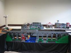 Boyne Viaduct at brick.ie display at Blackrock College 2011
