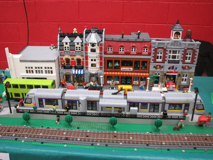 Luas, Archers Garage and buildings