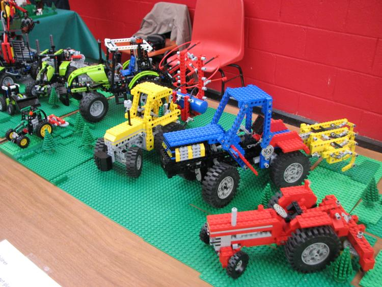 Tractors at Kildare