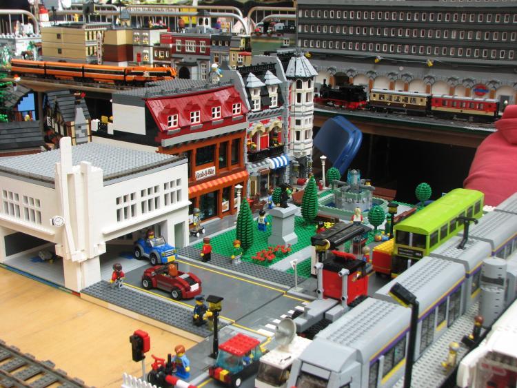 Transport depot and archers garage