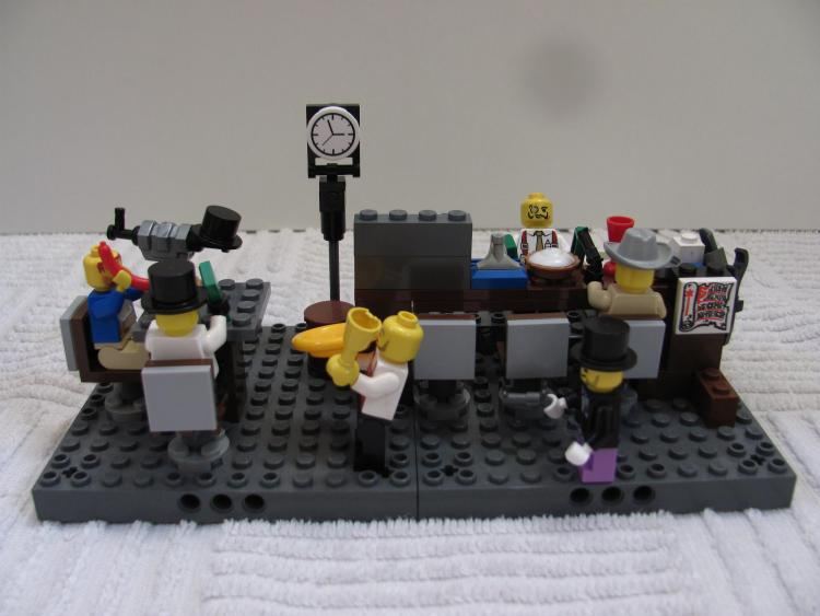 Adam's saloon hold-up