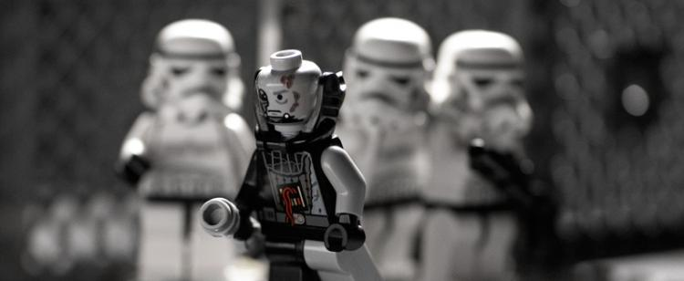 Not a Happy Vader