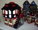Mediaeval village apothecary