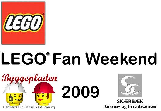Lego Fan Weekend Logo